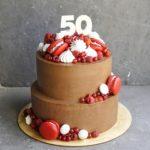 шоколадный торт с хрустящим слоем