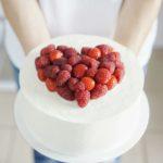 свадебный торт сердце москва