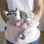 торт с короной для девочкина день рождения