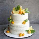 Свадебный торт с лимонами на заказ москва