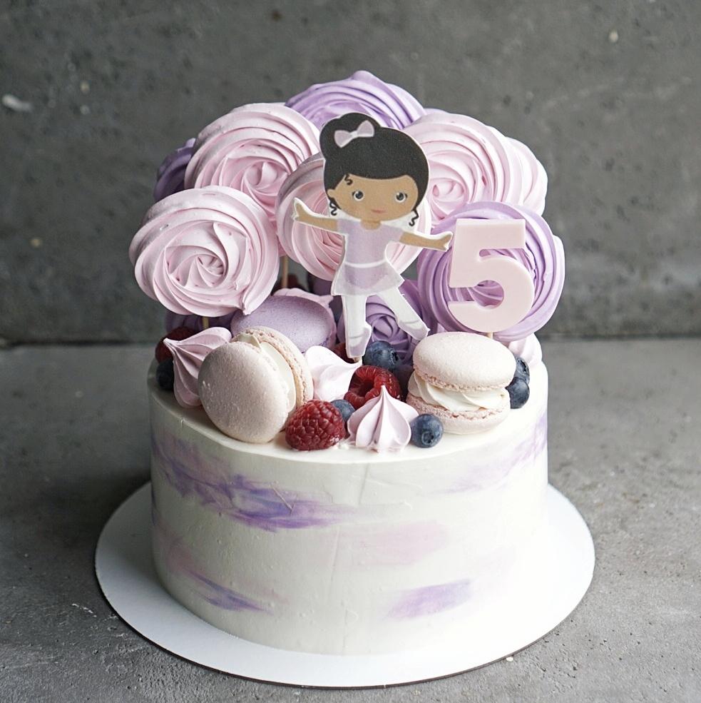 торт балерина на заказ москва