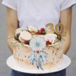 Торт в стиле Бохо шик на заказ москва