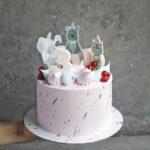 Детский торт с мишкой и зайкой москва