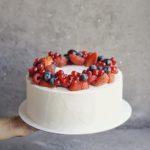 ягодный торт на заказ москва