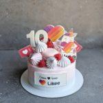 торт для блогера инстаграмм на заказ москва