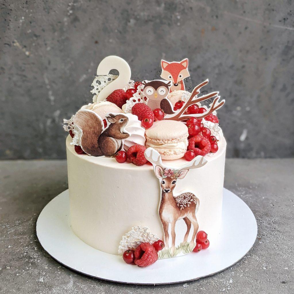 Детский торт для девочки на заказ в москве