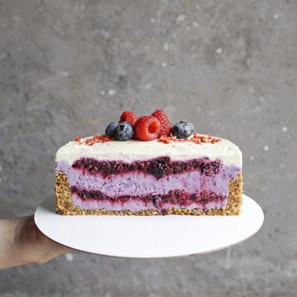 Веган торт ягодный на заказ москва