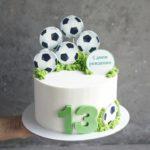 торт футбол на заказ москва