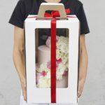 Упаковка для свадебного торта москва