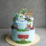 Торт в стиле игры Бравл Старс Brawl Stars