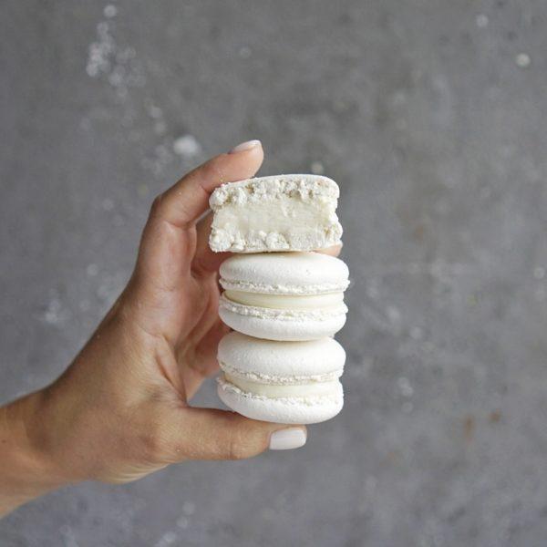 макаронс ванильный пломбир