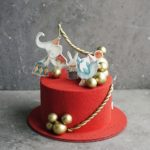 детский торт Цирк на заказ в москве