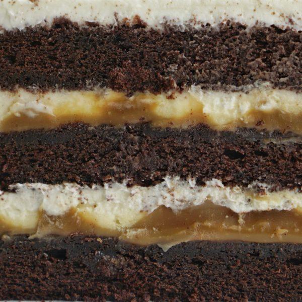 Торт шокоалд-карамель