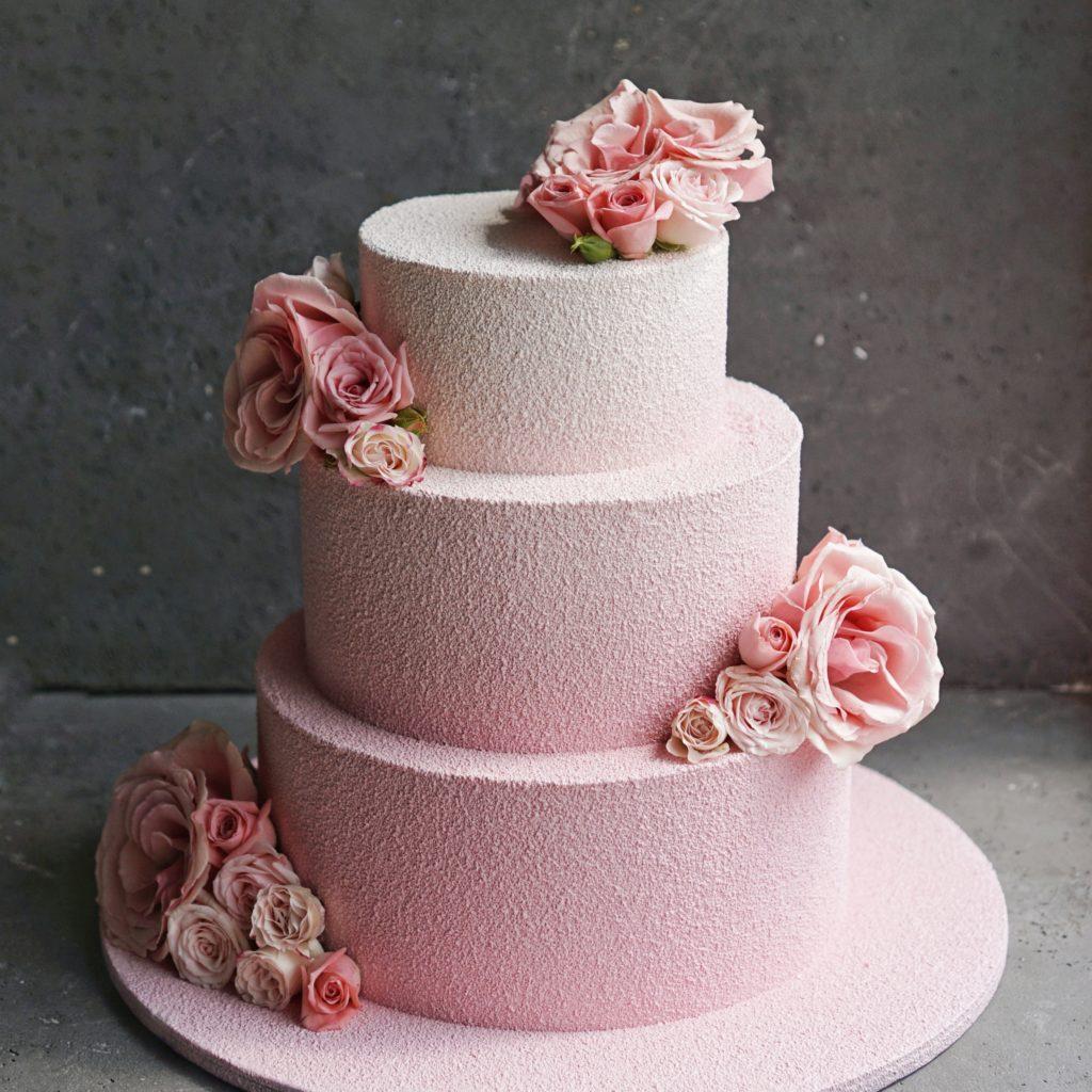 Свадебный торт натуральный на заказ москва