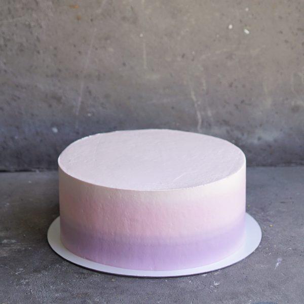 розовый торт для девочки на заказ москва